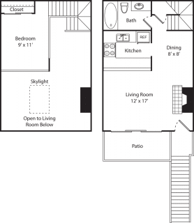 1 Bed / 1 Bath / 600 sq ft / Availability: Please Call / Deposit: $350 / Rent: $980